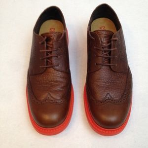 Camper Vibram Men Leather Oxford Size 39/6.5 Shoe
